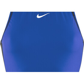 Nike Swim Water Polo Solids High Neck Tank Dame game royal